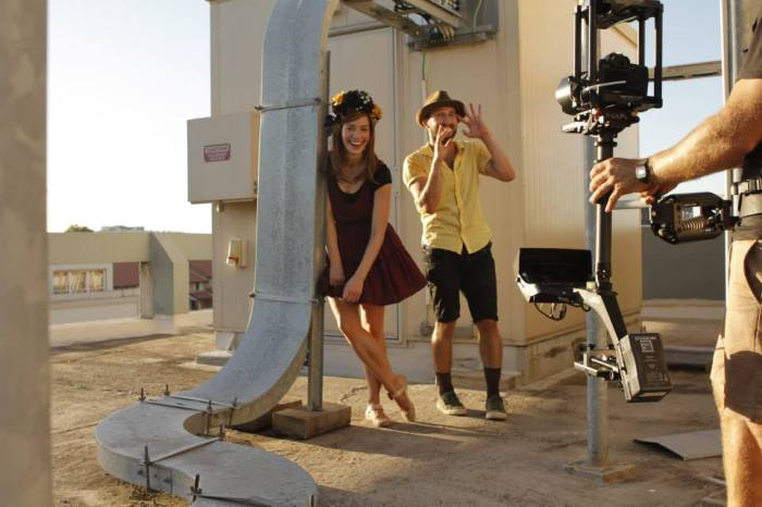 Em & Andy on the Happy shoot in Sydney, Australia